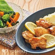鶏肉のはちみつレモンじょうゆ焼き