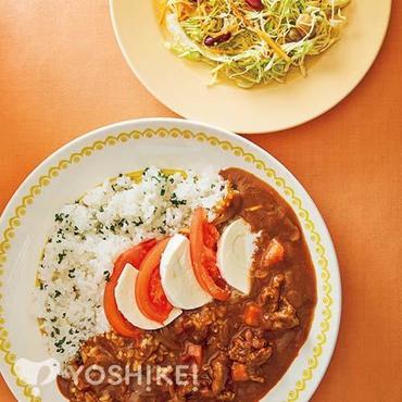 モッツァレラとトマトのハヤシライス