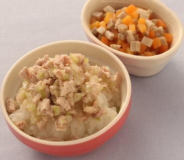 豚丼・ごぼうサラダ
