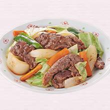 牛肉のコクウマ炒め