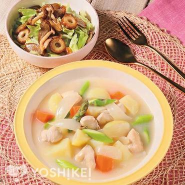 春野菜のクリームシチュー