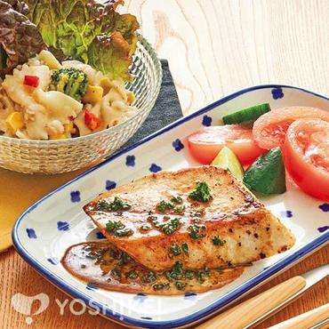 めかじきのステーキ~パセリレモンソース~