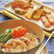 鶏肉の雑穀サラダビビンバ