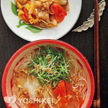 ベジタブルタイ風汁麺