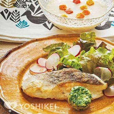 白身魚のポワレ~エスカルゴバター添え~