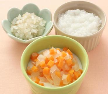 2色野菜のヨーグルトサラダ・もやしのやわらか煮・おかゆ