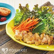エスニック風鶏肉のソテー~2種ダレ~