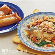 白身魚の中華風蒸し