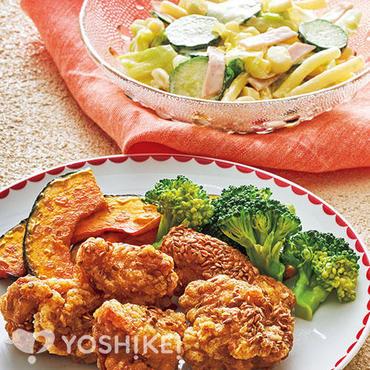 鶏肉のアマニから揚げ