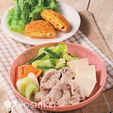 豚肉の塩すきやき風煮
