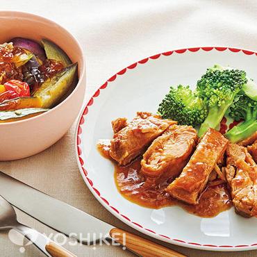 鶏モモ肉のオニオンソース