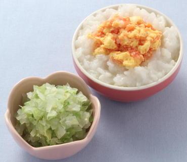 トマたま丼・レタスと玉葱のやわらか煮