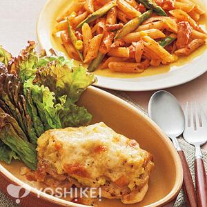 チキンとポテトのチーズ焼き