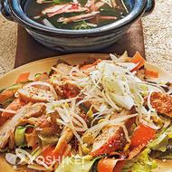 チキンの韓国風サラダ