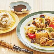 豚肉と豆腐のXO醤炒め