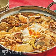魚介と豆腐のチゲ