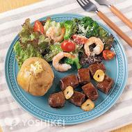 <洋食プレート>牛サイコロステーキ(食肉加工品)