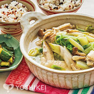 サムゲタン風白湯鍋