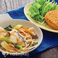 中華だれで食べる白身魚のフライパン蒸し