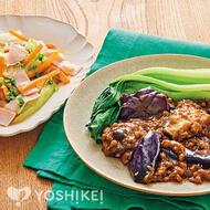 牛挽肉の豆鼓(トウチ)炒め