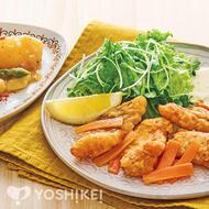 白身魚のスパイシー唐揚げ