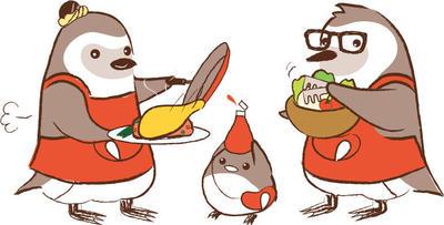 ペンギン家族_料理中.jpg